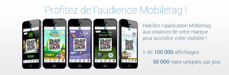 Profitez De Laudience Mobiletag Maintenant Les Smart QR Codes